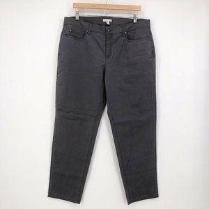 Eileen Fisher Gray Boyfriend Jeans Organic Cotton